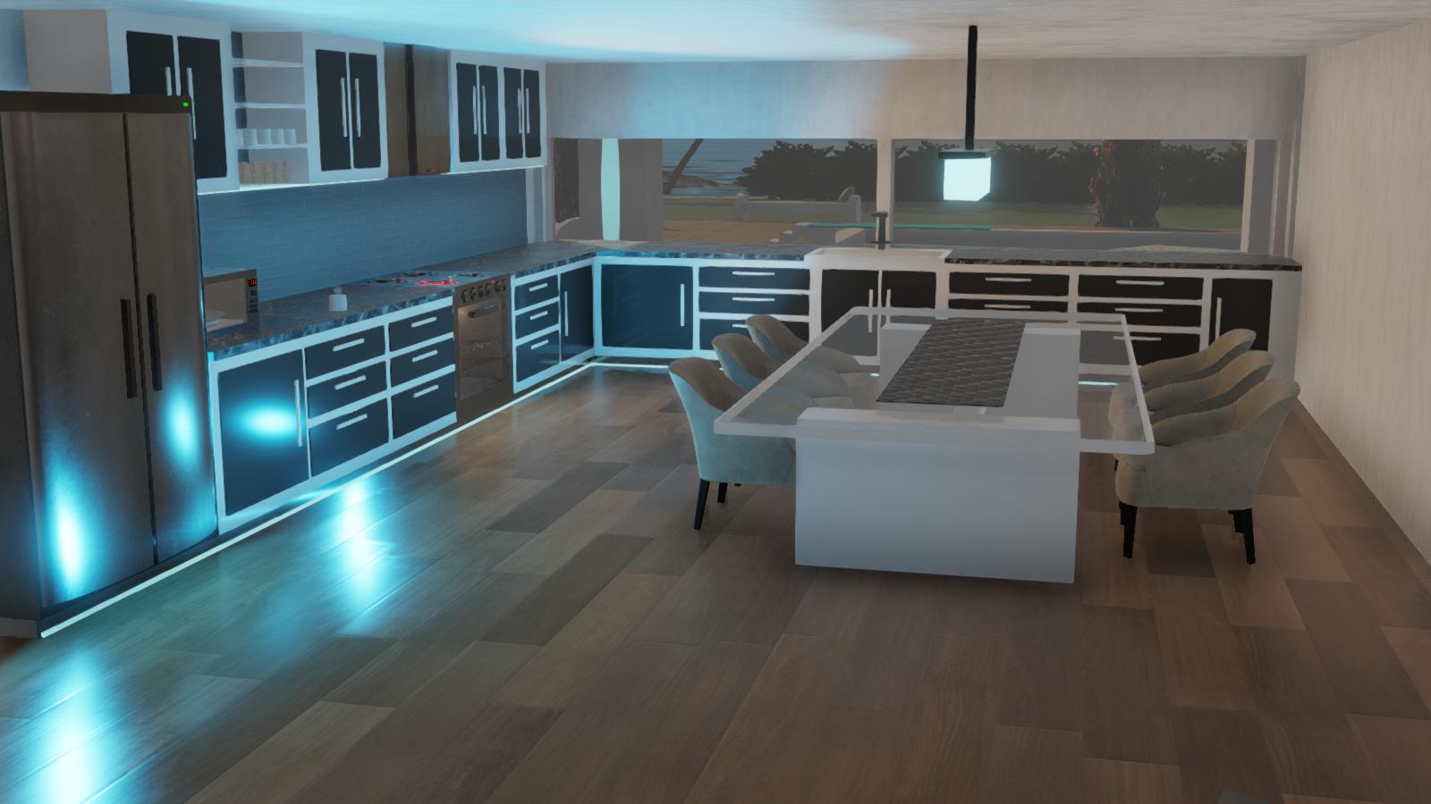 Newik Mansion - 00 Kitchen