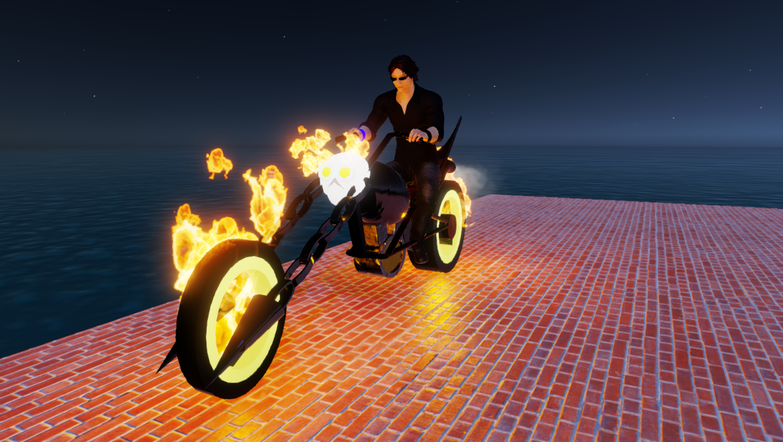 Slut Ghost Rider Bike