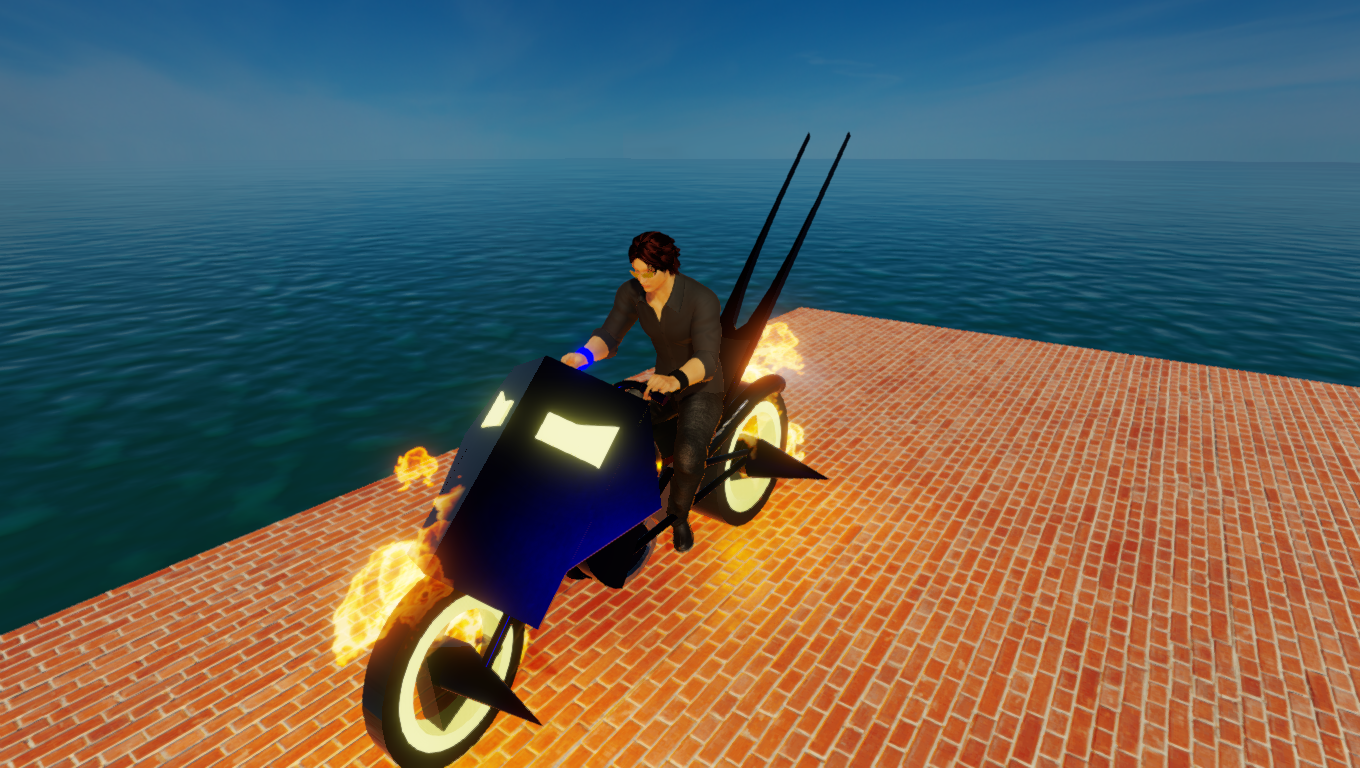 Comic Book inspired Ghost Rider