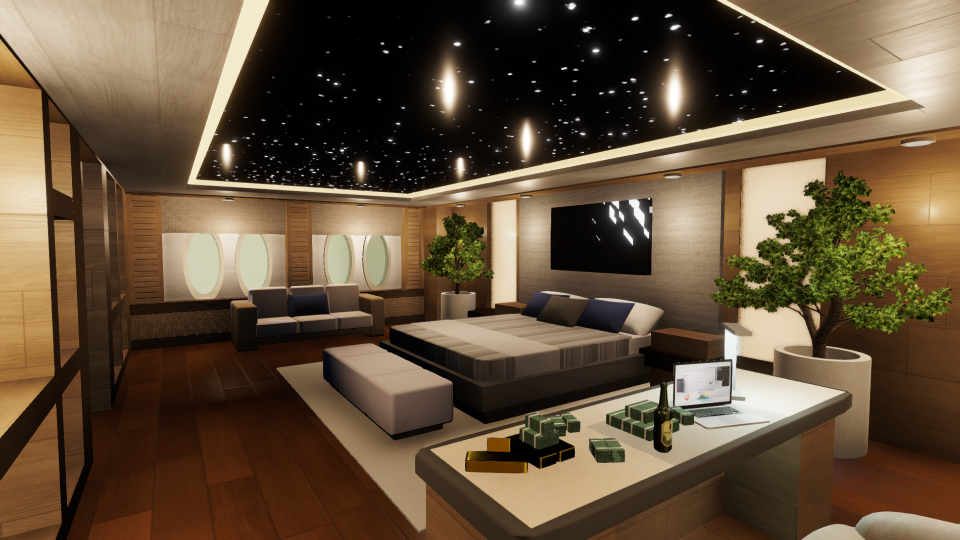 Interior Renovation - Master Suite