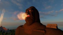 Kong Vs Godzilla in Mystery Island