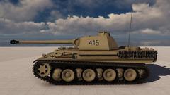 02- Panther Tank