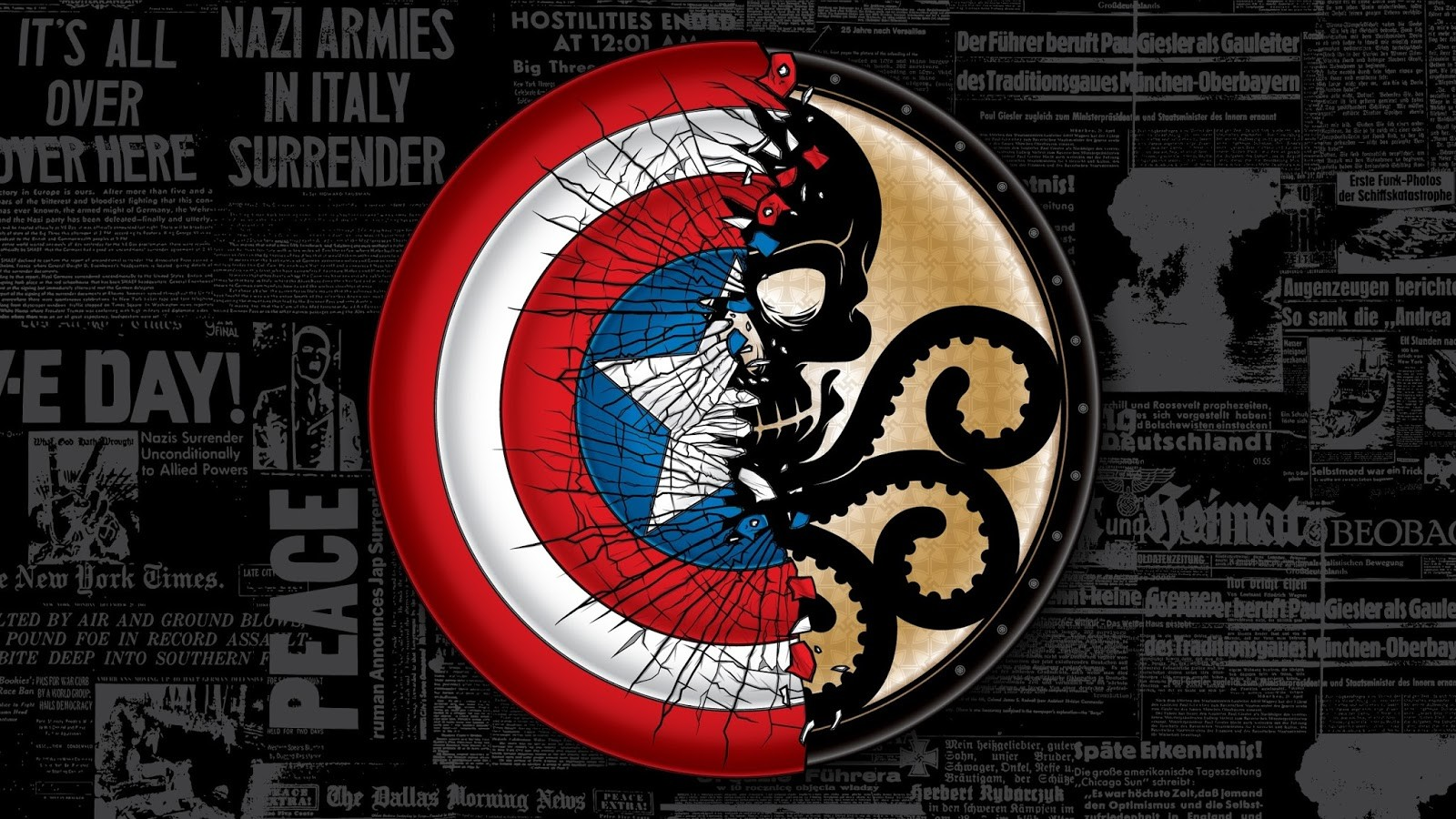 863851-artwork-captain-america-comics-crack-hydra-marvel-comics-journaux-red-skull-shields-superheroes-typography-world-war-ii (1)