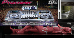 Pioneer Platinum Edition CDJ-2000 Nexus DJM-900Nexus mixer and RMX-1000 Remix Station