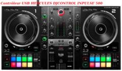 Contrôleur USB HERCULES DJCONTROL INPULSE 500