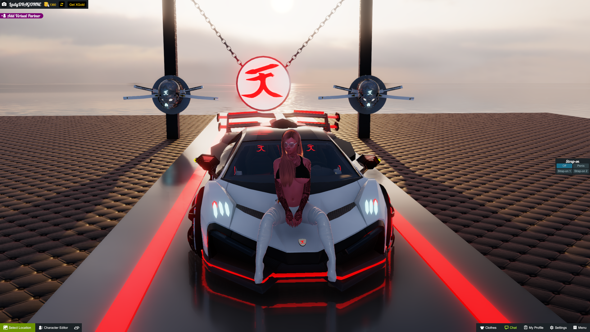 Akira preesent akira Milano Lamborghini